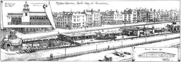 1903 &#8211; Proposed Scheme Brighton Aquarium, Sussex