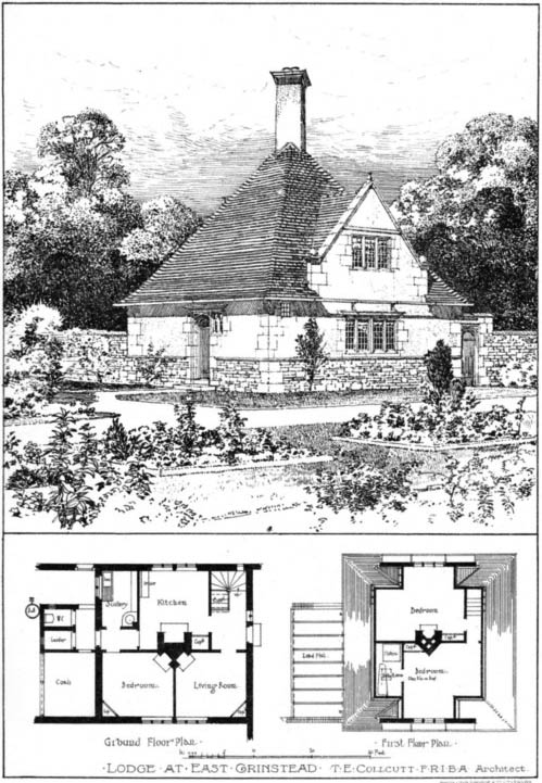1904 &#8211; Lodge, East Grinstead, Sussex