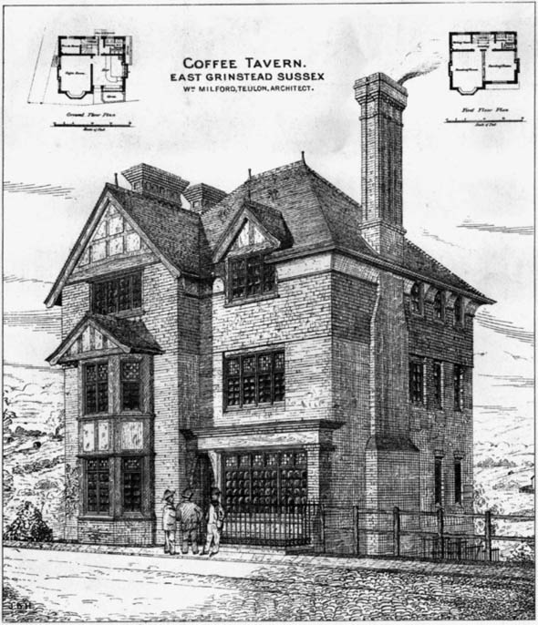 1880 &#8211; Coffee Tavern, East Grinstead, Sussex
