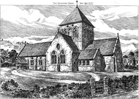 1881 &#8211; New Church, South Lancing, Sussex