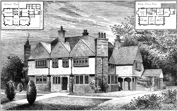 1906 – House between Etchingham & Ticehurst, Sussex