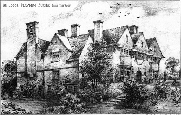 1906 – The Lodge, Playden, Sussex
