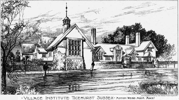 1899 &#8211; Village Institute, Ticehurst, Sussex
