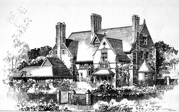 1892 &#8211; House at Eastbourne, Sussex