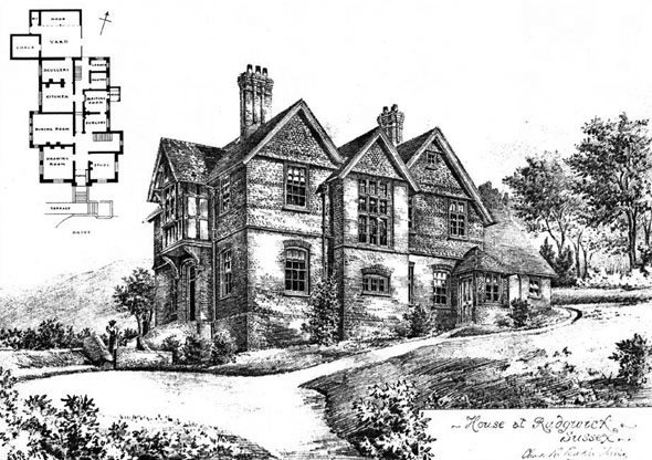1900 – House at Rudgewick, Sussex