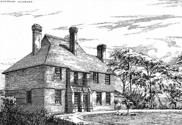 1881 – Eartham Vicarage, Sussex