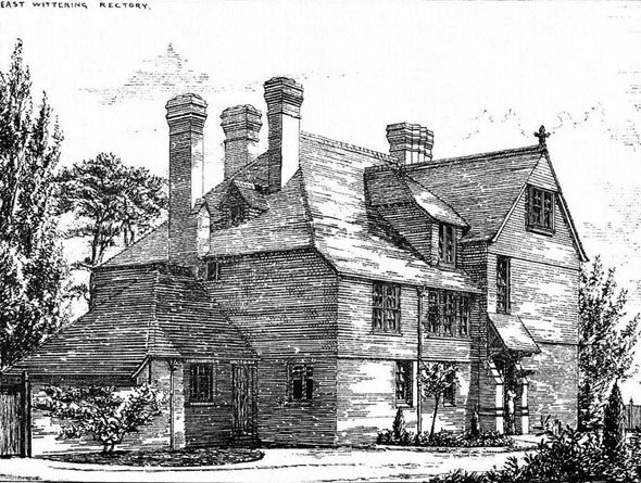 1881 &#8211; East Wittering Rectory, Sussex