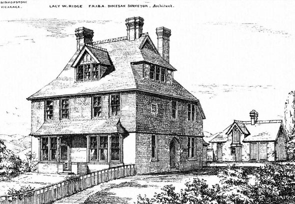 1881 &#8211; Bishopstone Vicarage, Sussex