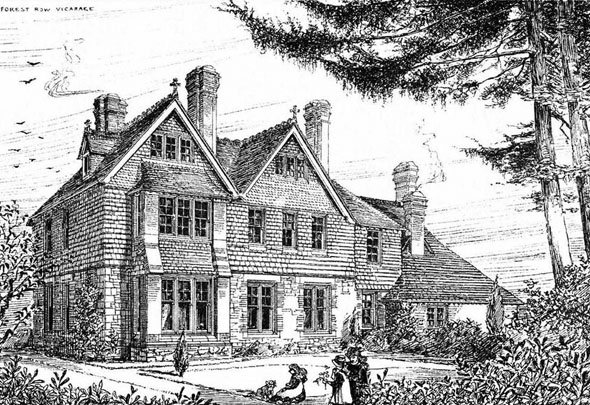 1881 &#8211; Forest Row Vicarage, Sussex