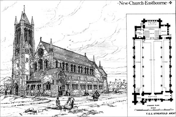1877 – New Church, Eastbourne, Sussex