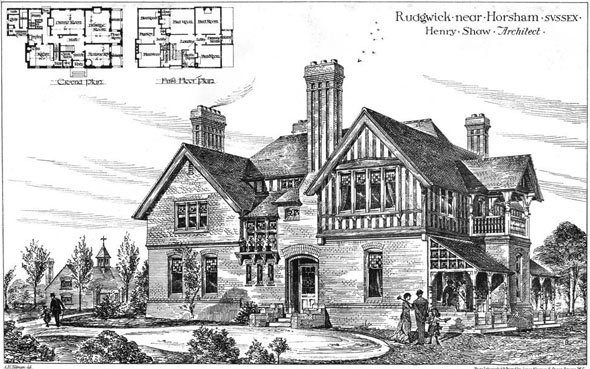 1879 – House, Rudgwick, Horsham, Sussex