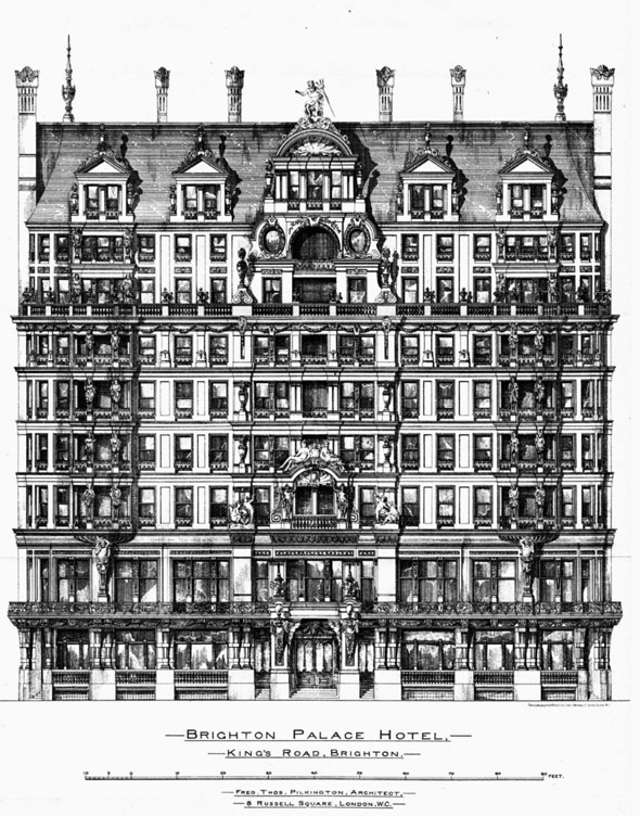 1886 &#8211; Brighton Palace Hotel, Sussex