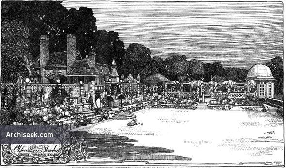 1908 – Garden & Observatory, Stonehurst, Ardingly, Sussex