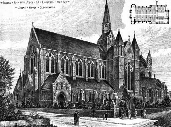 1883 – St. Peter's Church, St. Leonards on Sea, Sussex