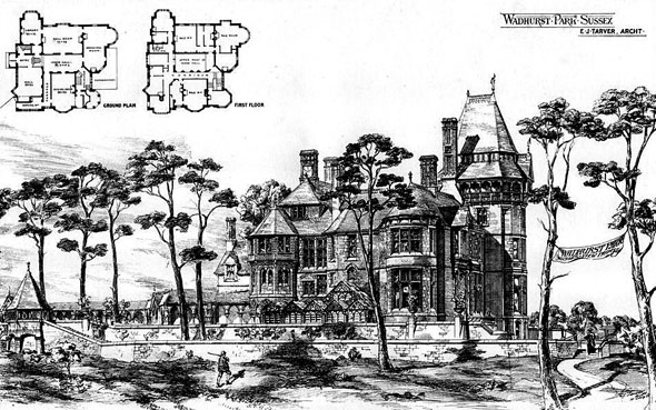 1875 &#8211; Wadhurst Park, Sussex