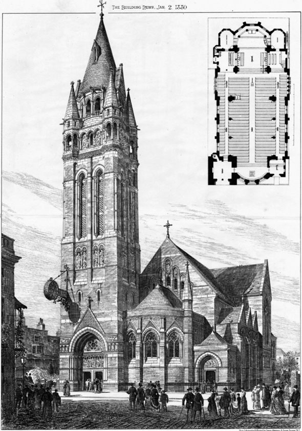 1878 – St. Mary's Church, Brighton, Sussex