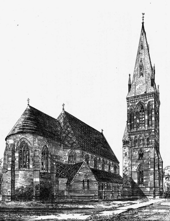 1867 – Church of St. Saviour, Eastbourne, Sussex