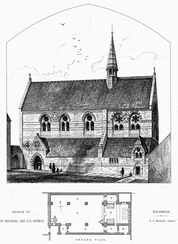 1860 – Church of St. Michael & All Angels, Brighton, Sussex