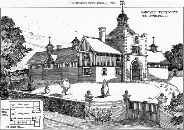 1902 – New Stabling, Oakover, Ticehurst, Sussex