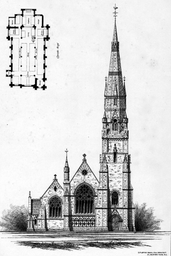 1878 – St. Mark's Church, Horsham, Sussex