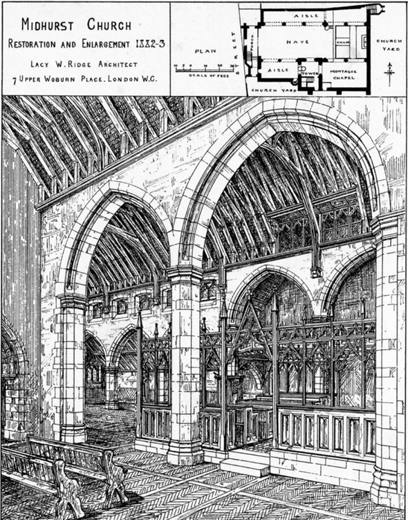 1882 – Restoration & Enlargement of Midhurst Church, Sussex