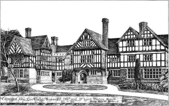 "1884 – ""Colwood"", Cuckfield, Sussex"