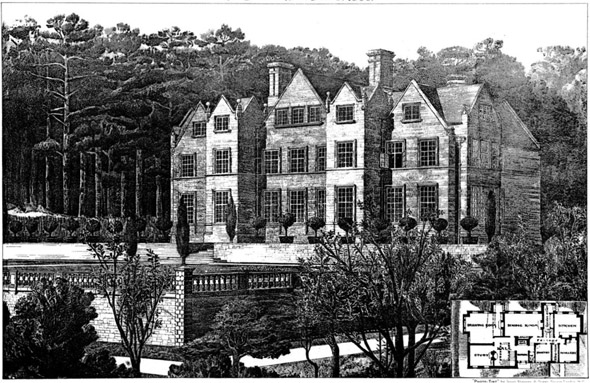 "1886 – ""Ravenhurst"", Graffham, Petworth, Sussex"