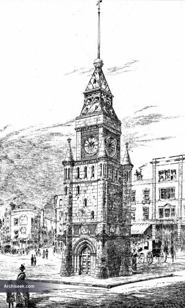 1887 – Design for Clock Tower, Brighton, Sussex