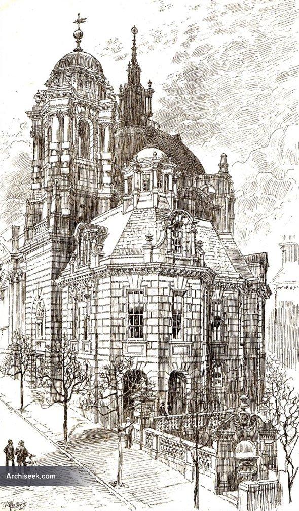 1899 – Design for Union Church, Queen Square, Brighton, Sussex