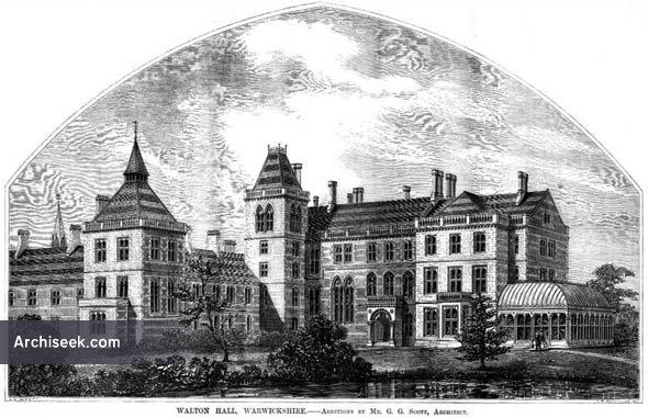 1860 – Walton Hall, Warwickshire