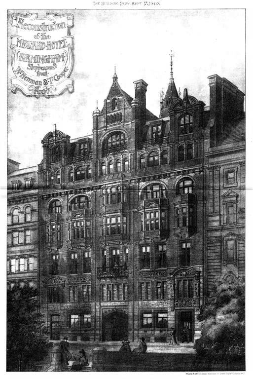 1903 &#8211; The Midland Hotel, Birmingham, Warwickshire