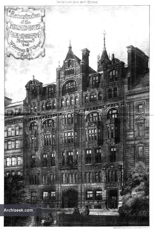 1903 – The Midland Hotel, Birmingham, Warwickshire