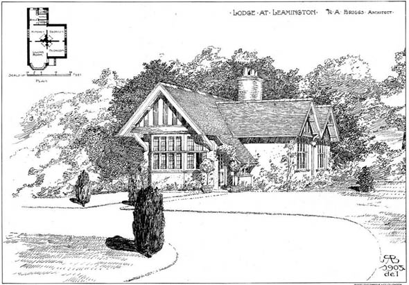 1904 – Lodge at Leamington, Warwickshire