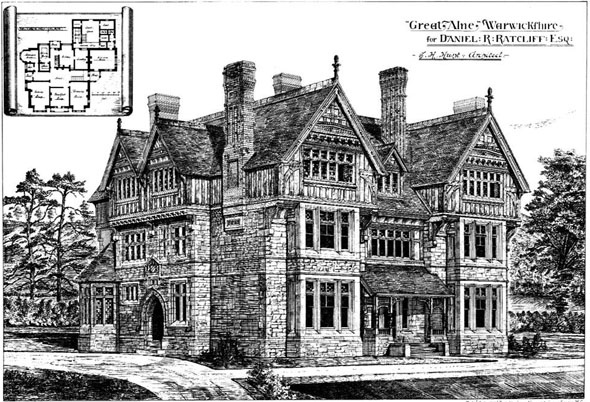 1878 – Great Alne Hall, Warwickshire