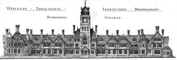 1879 – Wesleyan Theological Institution, Handsworth College, Birmingham, Warwickshire
