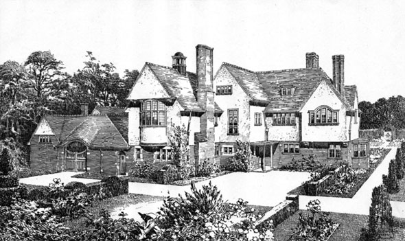 1906 &#8211; Hindecliffe, Fouroaks, Birmingham, Warwickshire