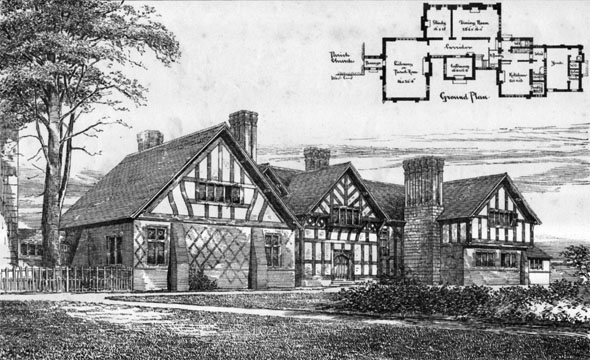 1881 &#8211; Polesworth Vicarage, Warwickshire