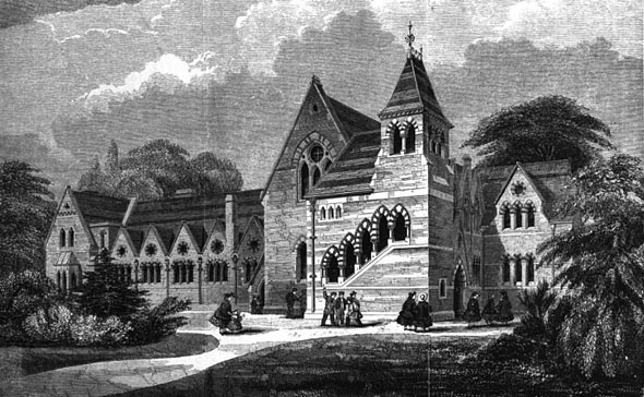 1862 – Schools, West Bromwich, Warwickshire