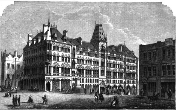 1862 &#8211; Birmingham Exchange Buildings