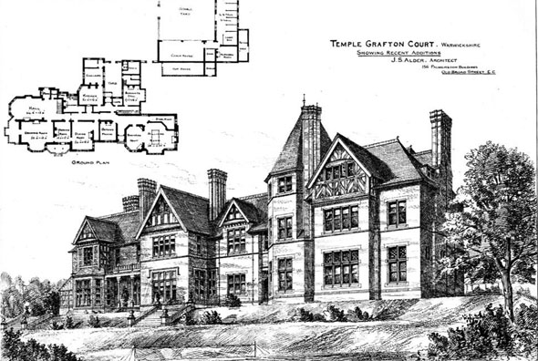1888 – Temple Grafton Court, Warwickshire