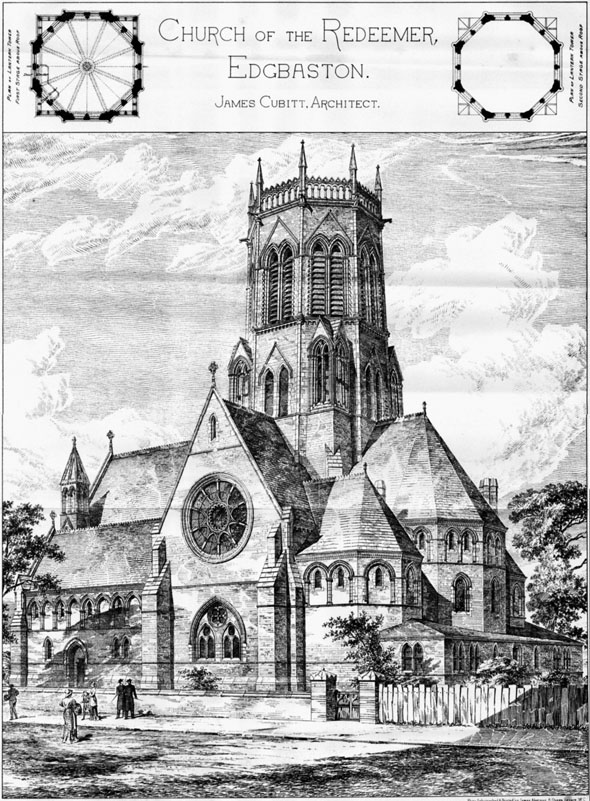 1882 – Church of the Redeemer, Edgbaston, Birmingham, Warwickshire