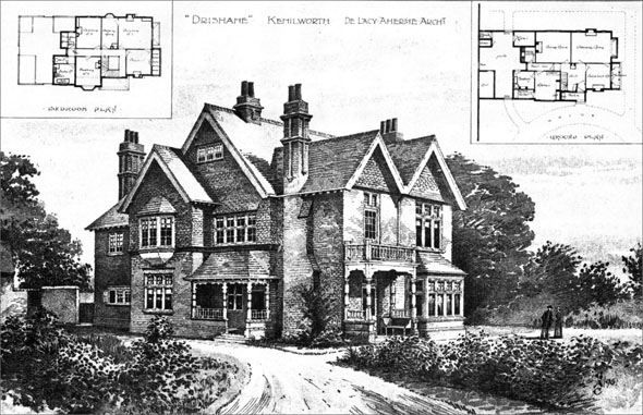 1898 &#8211; &#8220;Drishane&#8221;, Kenilworth, Warwickshire