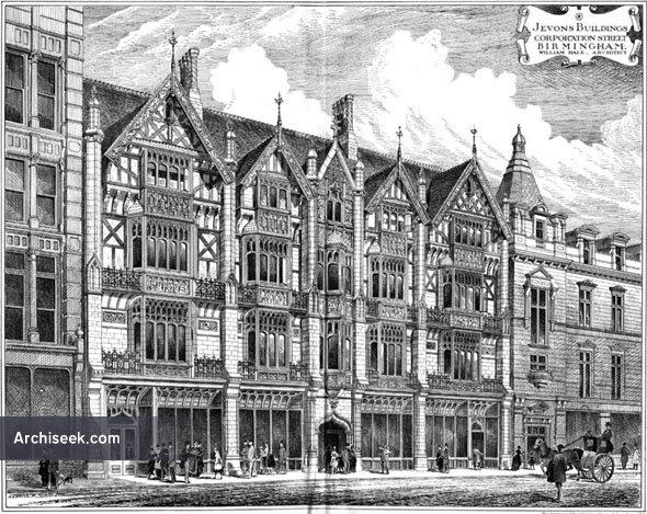 1886 – Jevons Buildings, Corporation Street, Birmingham