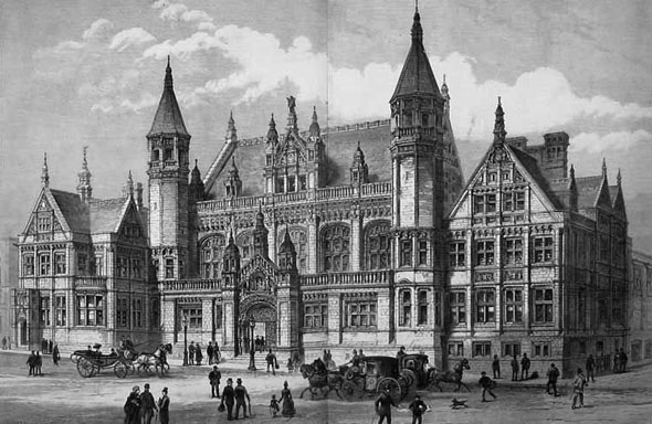 1886 &#8211; Birmingham Assize Courts Competition