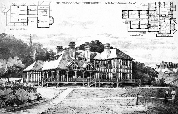 1896 – The Bungalow, Kenilworth, Warwickshire