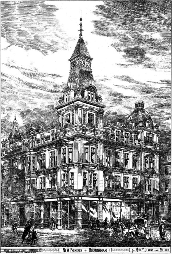 1880 &#8211; Jevons &#038; Mellor, Corporation Street, Birmingham