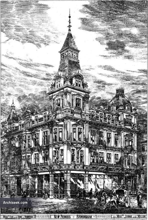 1880 – Jevons & Mellor, Corporation Street, Birmingham
