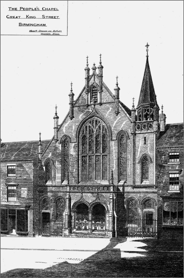 1887 &#8211; The Peoples Chapel, Great King Street, Birmingham