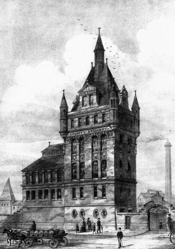 1888 – County Brewery, Aston New Town, Birmingham