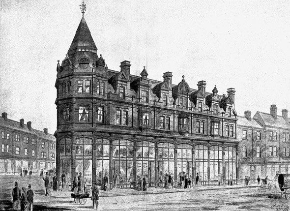 1885 – New Premises, Parade & Edward Street, Birmingham